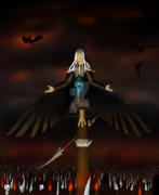 Corrupted Manwe - harpy king