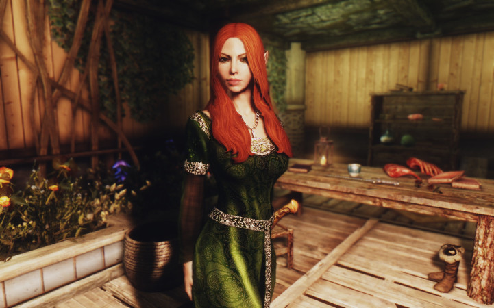 Elven Priestess
