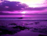 The Purple Sky Planet
