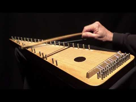 """JOHANNI WEIS' "" on Bowed Psaltery"