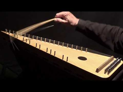 """STURES SCHOTTIS"" on Bowed Psaltery"