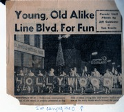 L.A. Time Newsclipping - HHS Leads Christmas Parade 1969