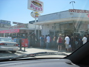 Pink's Hot Dog Stand