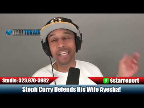 Steph Curry Defends Ayesha Curry's Comments