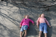 Sand Angels at Dewees Island, SC