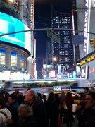 Cutting through Times Square