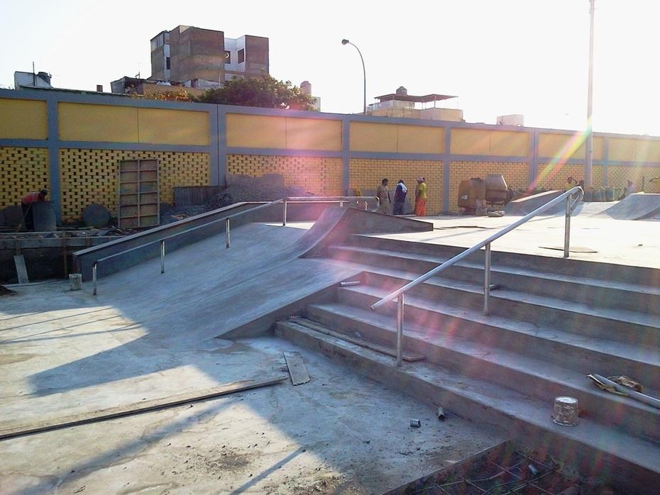 SKATEPARK SURCO-LOMA AMARILLA- EL MEJOR STREET COURSE PERUANO