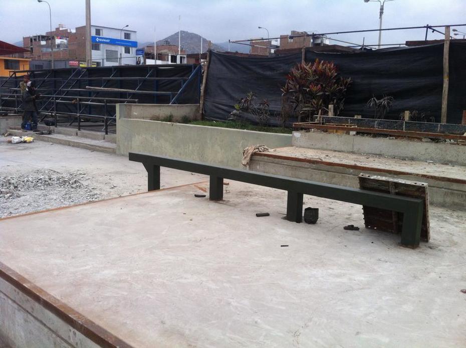 SKATEPLAZA SAN JUAN DE MIRAFLORES CONSTRUCCION