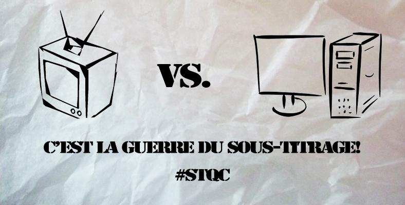 #STQC: télévision VS. ordinateur