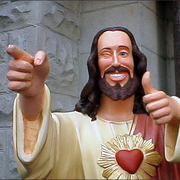 The Buddy Christ!