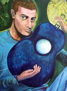 Man  & the Blue Guitar
