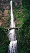 Bridal Veil Falls - Oregon - By Roxanne Skidmore