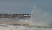 Yellowstone Gyser April 20, 2014