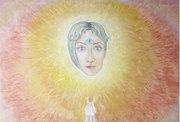 The Ascent.\Ludmila Kniga \oil on canvas\