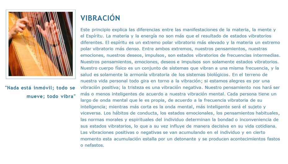 7 Leyes Universales Vibracion