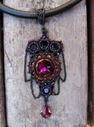 Blood Star pendant
