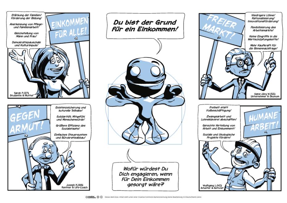 Comic Folder Vorderseite