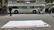 Zu Gast beim OMNIBUS für direkte Demokratie auf dem Kölner Chlodwigplatz