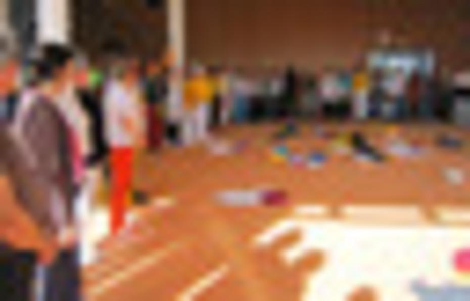 Schlusskreis beim Kinderyogakongress
