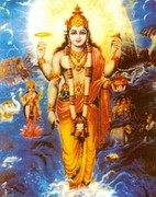 Dhanvantari und der Nektar der Unsterblichkeit