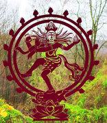 Shiva Wandtattoo Fensteraufkleber