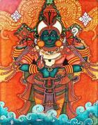 Gott Dhanvantari, Urvater des Ayurveda