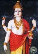 Dhanvantari Marmor Murti - majestätisch und mitfühlend
