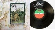 Led Zeppelin IV Album Signed by Jimmy Page Robert Plant and John Paul Jones