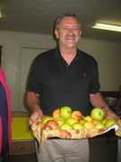 Milton Rider and apples direct from North Carolina