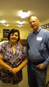 Jeanette Nevels Lambert and John Holden