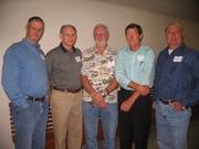 John Holden, David Price, Thomas Milton Smith, Jack Whittington, Kelvin Sterling