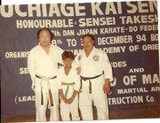 With Sensei Takeshi (jkf) Uchiage Kai Seminar - 1994 in India