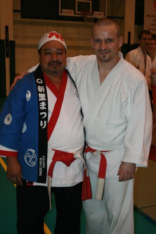G.M.JAGDISH AND SHIHAN WAJCIECH DUDKOWSHI GLADIATOR JU-JITSU KLUB