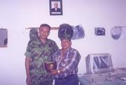 with Major Sanatkumar Basnet