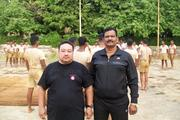 With Maharashtra State Commando Police Training in Mumbai,INDIA.