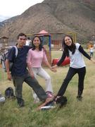 YO , ANA,HEYDEN (EN EL SUELO)Y KELLY.