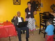 Rafael y Ms Carolne