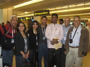Rafael,Ana,Carolina,VictorJr,Sunil,Manuel y Victor Sanchez