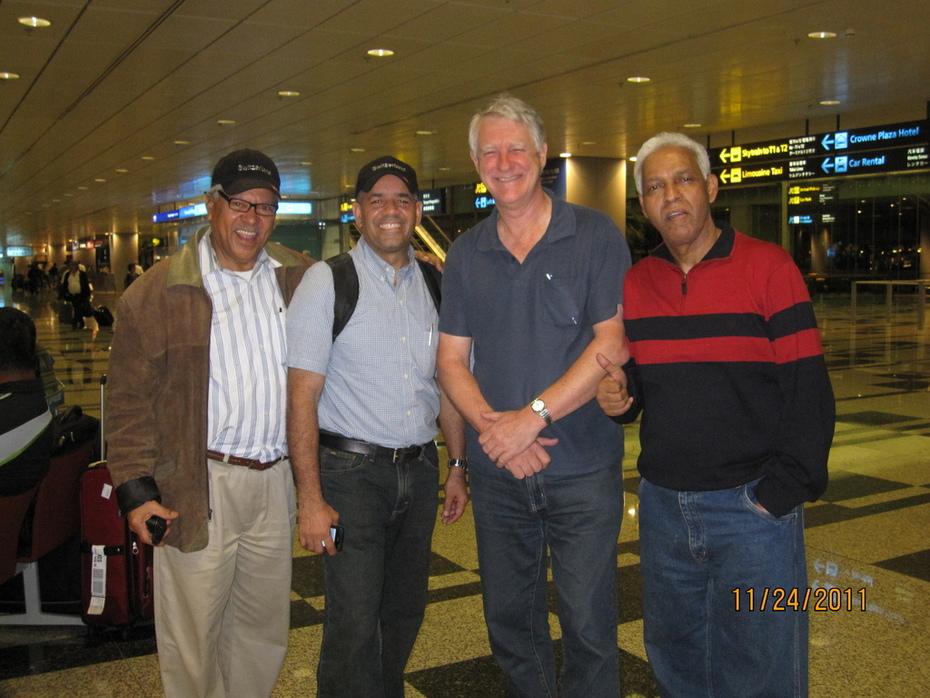 Victor,Manuel,Mr Morris and Mr Rafael