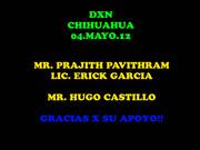 FOTOS DEL EVENTO EN CHIHUAHUA CON MR. PRAJITH