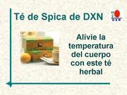 Té de Spica DXN