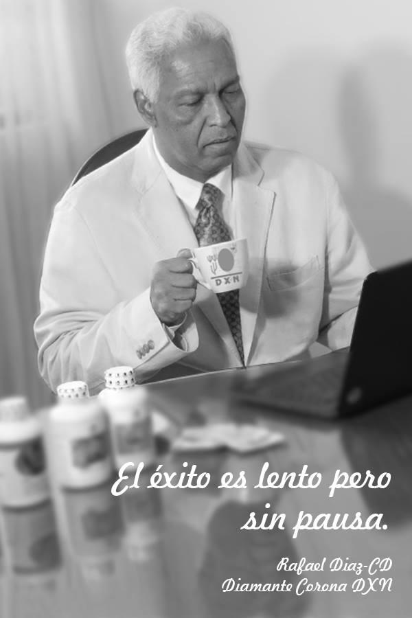 Mr Rafael pensando para que tu negocio //sea mejor