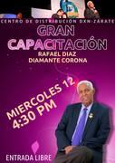 GRAN CAPACITACION // EN EL CENTRO DE SERVICIO DE ZARATE//CON NUESTRO DIAMANTE-*CORONA//RAFAEL DIAZ