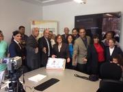 El Equipo de Dominican Power INC y Mr Prajith/// En New York//Y EL Icing On The Cake