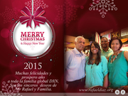 Muchas Felicidades y prospero año a toda la familia global DXN