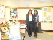 Ms Carolina y Ms Nancy en la capacitacion con Mr Lazlo//NY-2014
