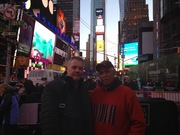 Mr Lazlo and Mr Rafael, en New York.