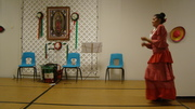 mecatx group performs at Our Lady of Guadalupe celebrations