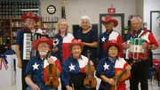 MECATX band plays for Texas Independence Day