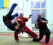 Grandmaster Yuriy Kostrov in action